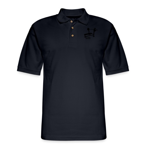 F*ck Stress bench press - Men's Pique Polo Shirt