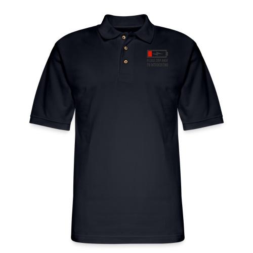 introverting - Men's Pique Polo Shirt