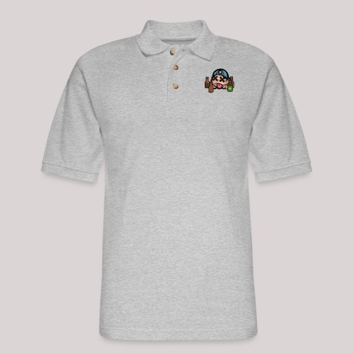 R.I.P - Men's Pique Polo Shirt