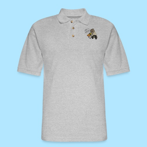 box nerf warAW - Men's Pique Polo Shirt
