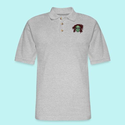 BOB MARLEY SKULLY - Men's Pique Polo Shirt