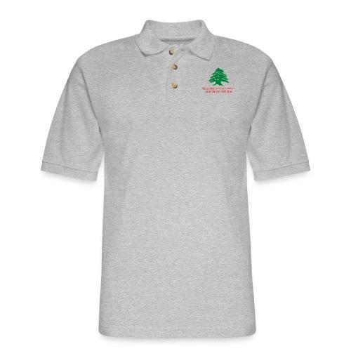 Collection Lebanese Proverb - Men's Pique Polo Shirt