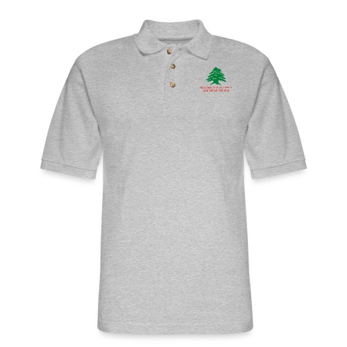 Collection Lebanese Proverb - Men's Pique Polo Shirt