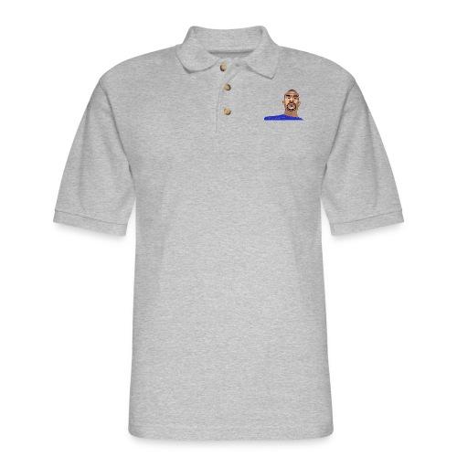 pretty tony cooking apron2 - Men's Pique Polo Shirt