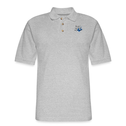 Be Your Own Beautiful_Blue - Men's Pique Polo Shirt