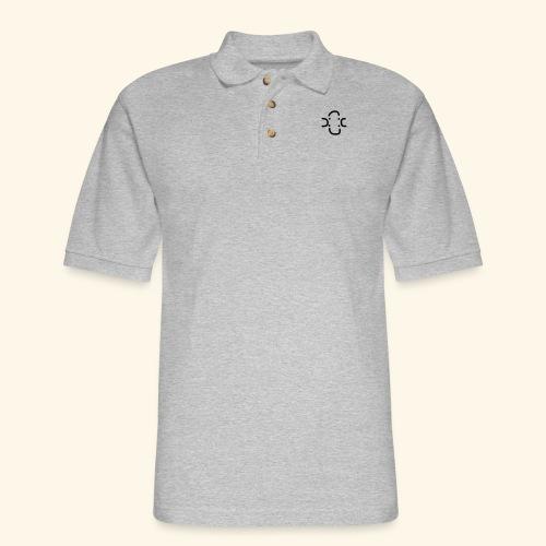 4 Visages classic design - Men's Pique Polo Shirt