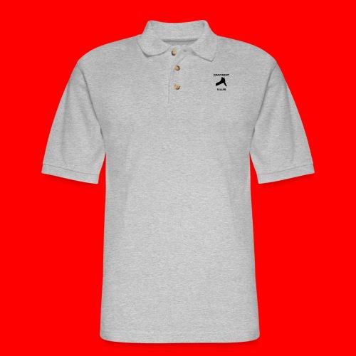 OxyGang: Confident Killer Products - Men's Pique Polo Shirt