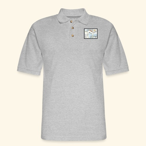 India - Mudhol Hound - Men's Pique Polo Shirt