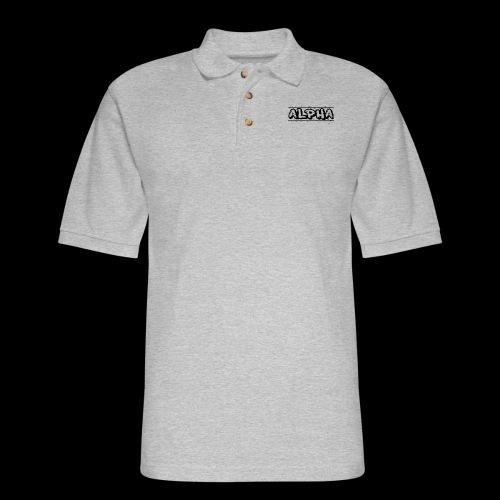 Alpha Design - Men's Pique Polo Shirt