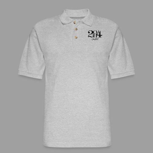 2OH4 - Men's Pique Polo Shirt