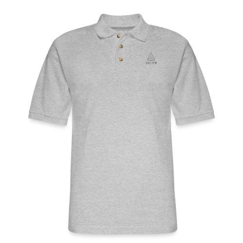 Dao Zen Gray Shirt - Men's Pique Polo Shirt