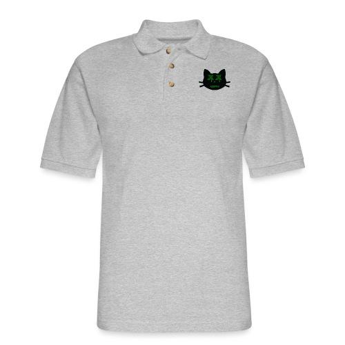 Acidic Line 1 - Men's Pique Polo Shirt