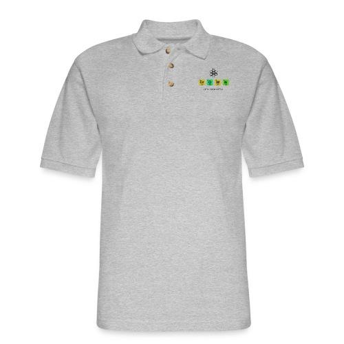 Crown Elements Image - Men's Pique Polo Shirt