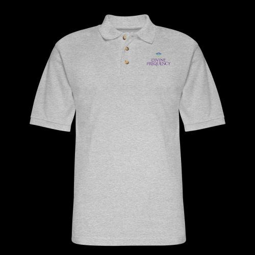 Color Divine Frequency - Men's Pique Polo Shirt