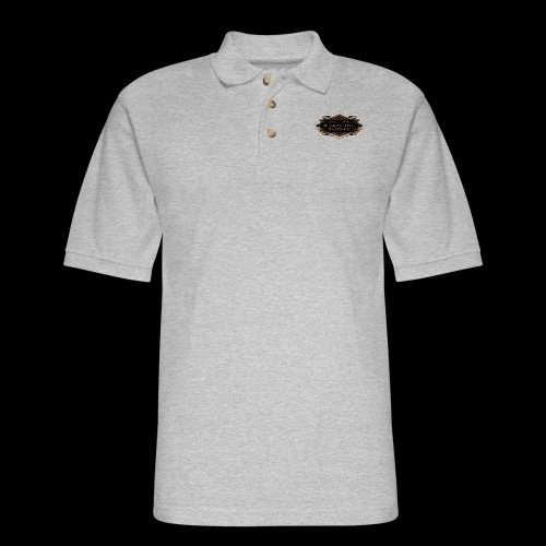 teamTSC badge03 Bar - Men's Pique Polo Shirt