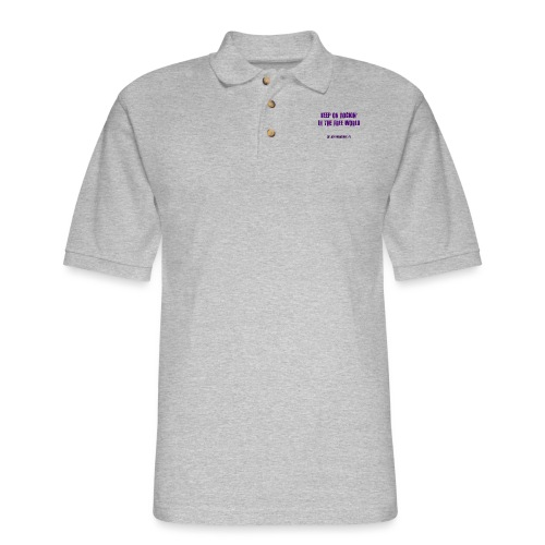 KORITFW - Men's Pique Polo Shirt