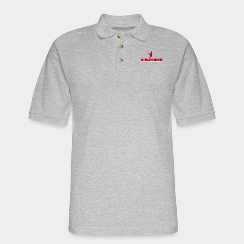 Half-Star Girlfriend - Men's Pique Polo Shirt