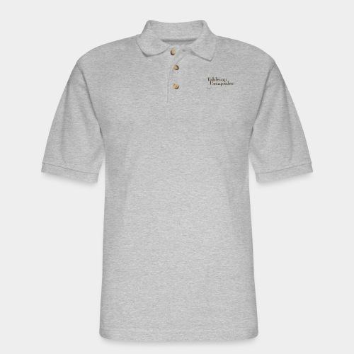 Tabletop Escapades Logo - Men's Pique Polo Shirt