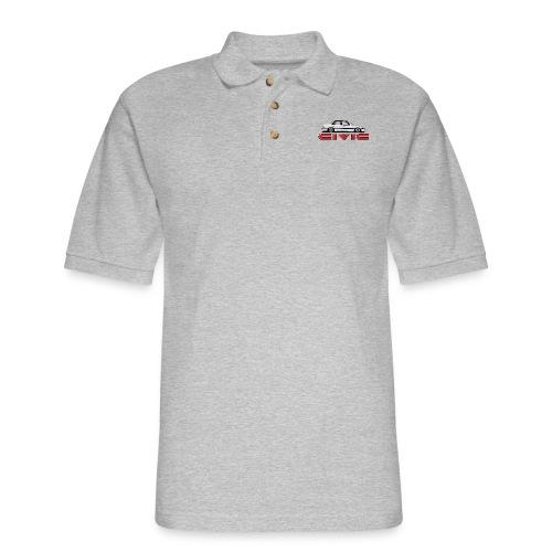 '88 - '91 EF Sedan - Men's Pique Polo Shirt