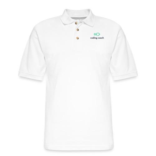 high resolution dark - Men's Pique Polo Shirt