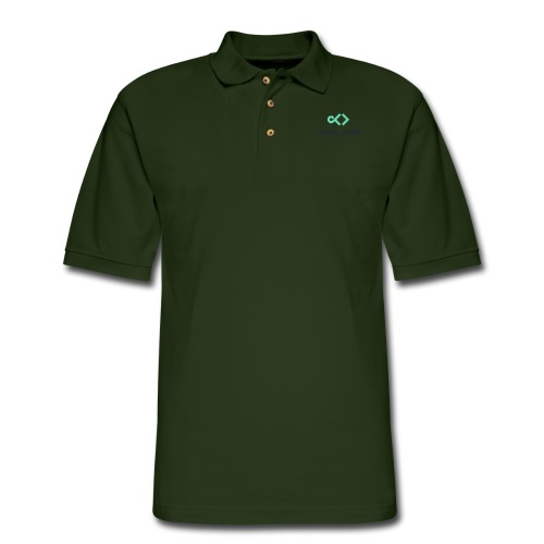 high resolution dark - Men's Pique Polo Shirt