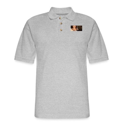 jjj copy png - Men's Pique Polo Shirt