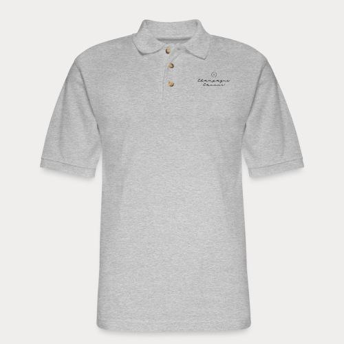 Champagne Caucus - Men's Pique Polo Shirt