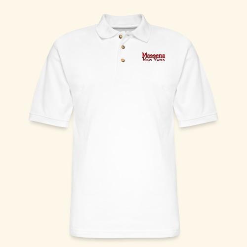Massena New York - Men's Pique Polo Shirt