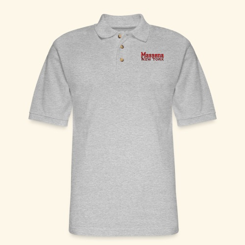 Massena New York - Men's Pique Polo Shirt