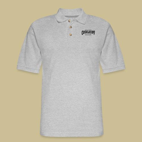 Gugelhupf (black) - Men's Pique Polo Shirt