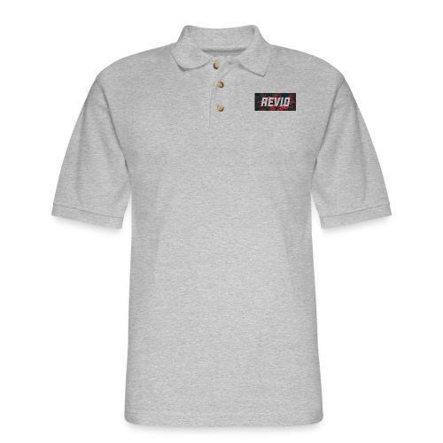 Revio Logo shirt - Men's Pique Polo Shirt