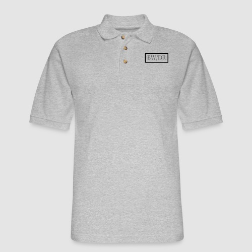 BWDR Logo - Dark - Men's Pique Polo Shirt
