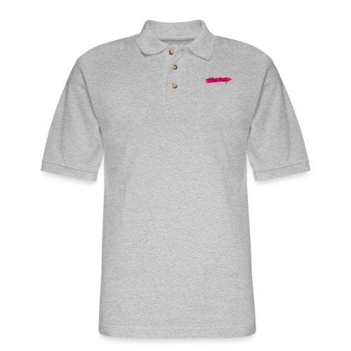 I Love the Bliss Party! - Men's Pique Polo Shirt