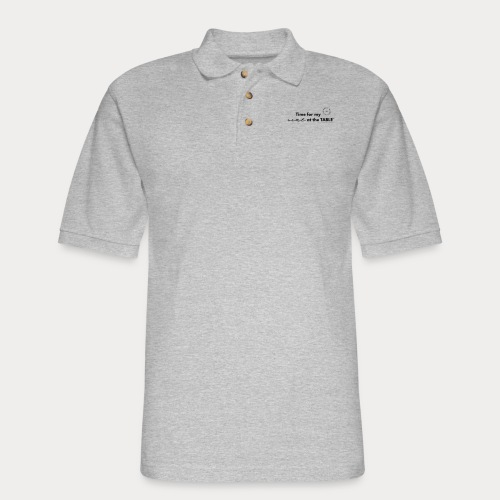My Seat at the Table - Men's Pique Polo Shirt