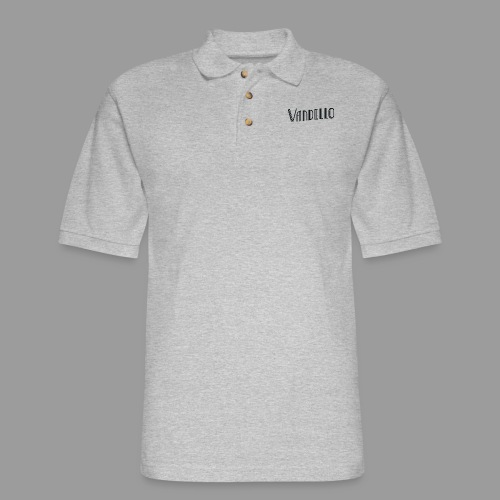 Vandello Logo-Black - Men's Pique Polo Shirt