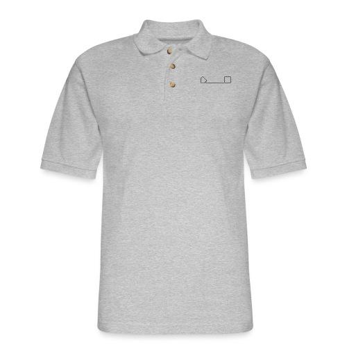 Basic Hard 90 design - Men's Pique Polo Shirt