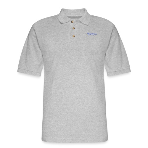 Taswegian Blue - Men's Pique Polo Shirt