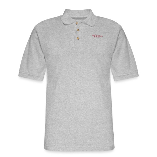 Taswegian Red - Men's Pique Polo Shirt