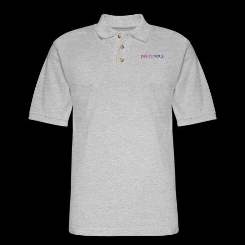 psicurious - Men's Pique Polo Shirt