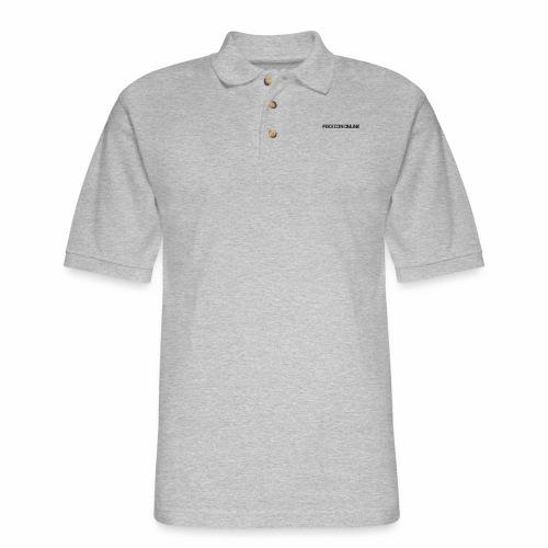 facecoin online dark - Men's Pique Polo Shirt