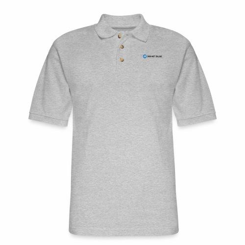 dashnet online dark - Men's Pique Polo Shirt