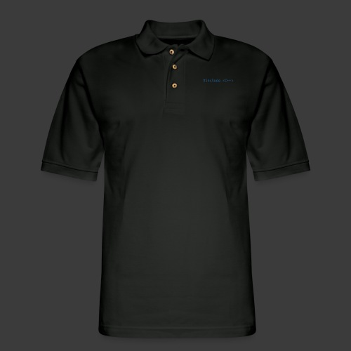 Blue Include Logo - Men's Pique Polo Shirt
