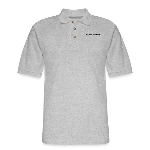 Revel Rouser - Men's Pique Polo Shirt
