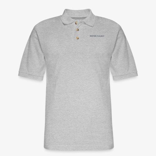 ROCK HARD - Men's Pique Polo Shirt
