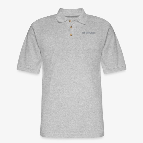 ROCK HARD - Men's Pique Polo Shirt