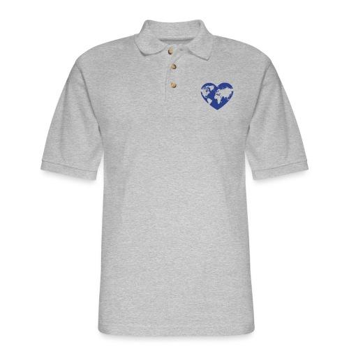Earth Love - Men's Pique Polo Shirt