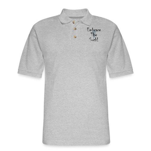 EMBRACE THE SUCK - Men's Pique Polo Shirt