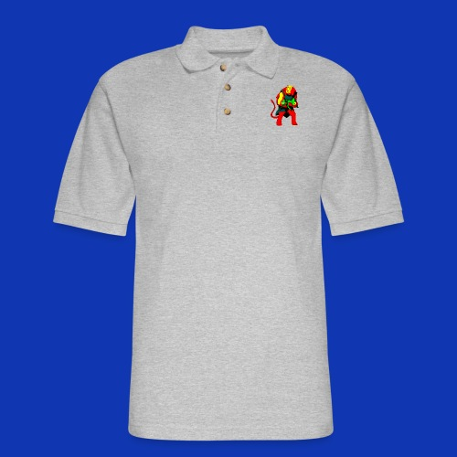 NAC and NOVA - Men's Pique Polo Shirt