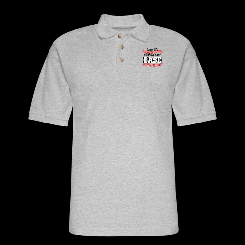all about that base - Men's Pique Polo Shirt