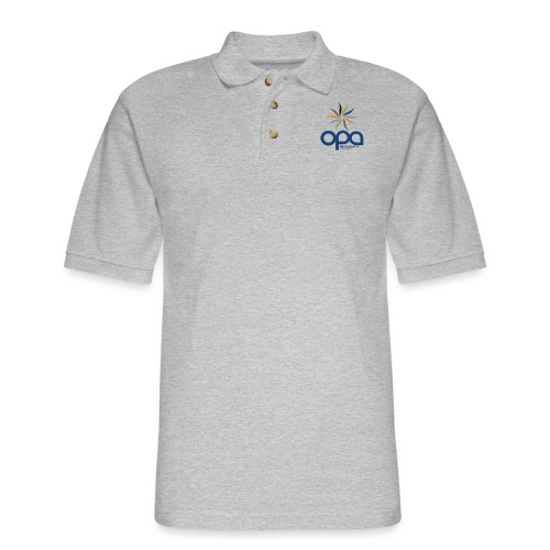 Long-sleeve t-shirt with full color OPA logo - Men's Pique Polo Shirt